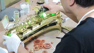 フリューゲルホルン修理 管楽器修理